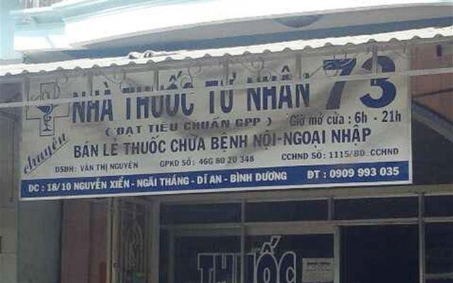 Nhà Thuốc Số 73 - Nguyễn Xiển