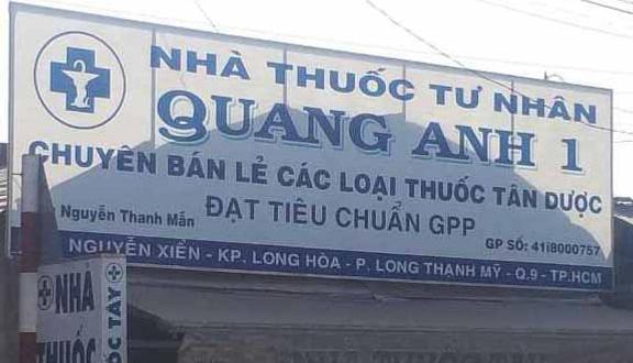 Nhà Thuốc Quang Anh 1 - Nguyễn Xiển