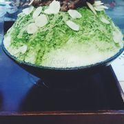 Bingsu trà xanh150k (nên thử)