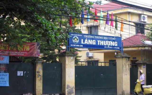 Trường THCS Láng Thượng - Chùa  Láng