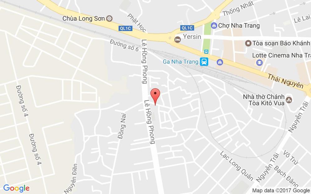 Vị trí bản đồ 157 Hẻm Quốc Tuấn Tp. Nha Trang Khánh Hoà