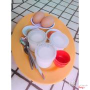 Sữa chua & trứng luộc
