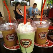 cafe phin + matcha jelly