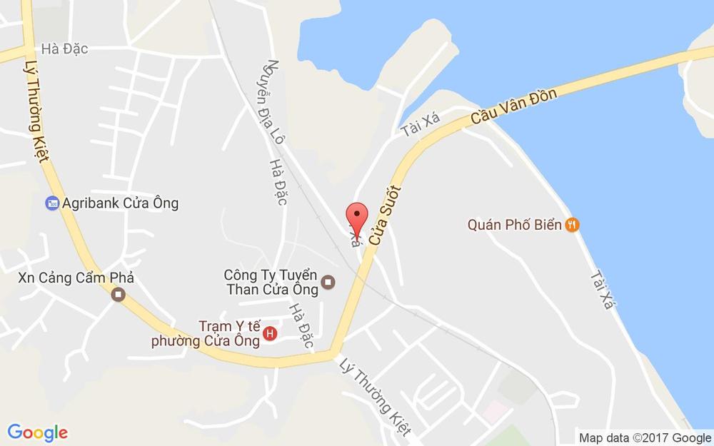 Vị trí bản đồ 7 Cảng Cá Tp. Cẩm Phả Quảng Ninh