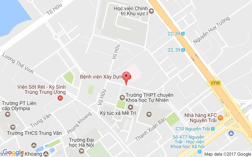 Vị trí bản đồ 108 C18 Nguyễn Quý Đức Quận Thanh Xuân Hà Nội
