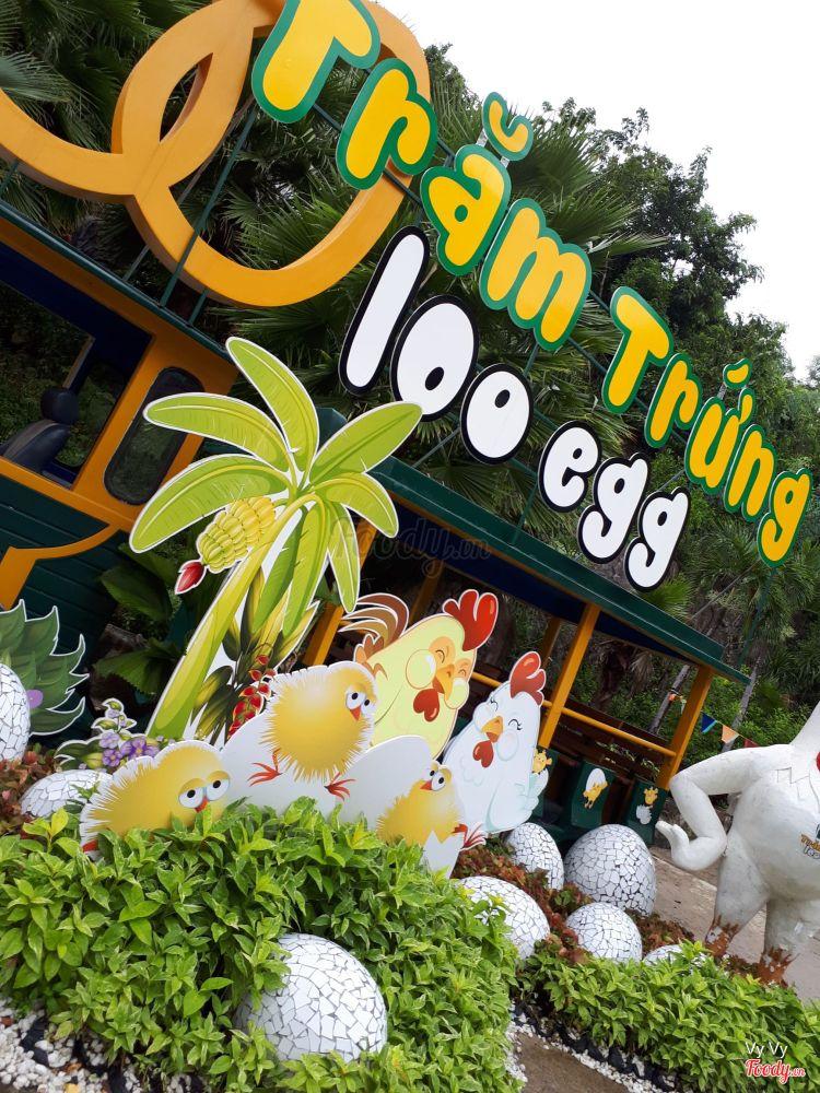 100 Egg Theme Park (Khu Du Lịch Trăm Trứng) ở Khánh Hoà