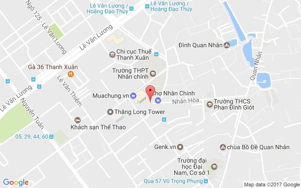 Vị trí bản đồ 24T1 Hapulico, 85 Vũ Trọng Phụng Quận Thanh Xuân Hà Nội