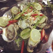 Hàu sashimi