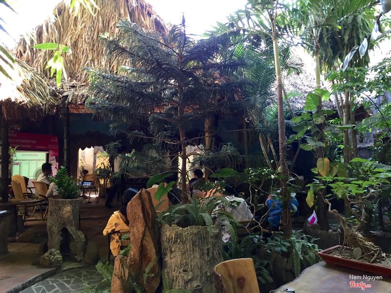 Quán cafe Hương Quê đẹp không đụng hàng, rất yên tĩnh, đồ uống chất lượng lại rẻ.