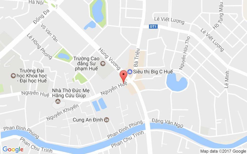 Vị trí bản đồ 181 Bà Triệu Tp. Huế Huế