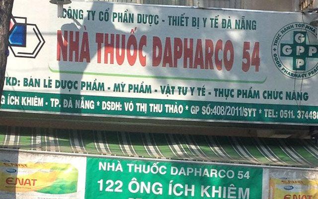 Nhà Thuốc Dapharco 54 - Ông Ích Khiêm