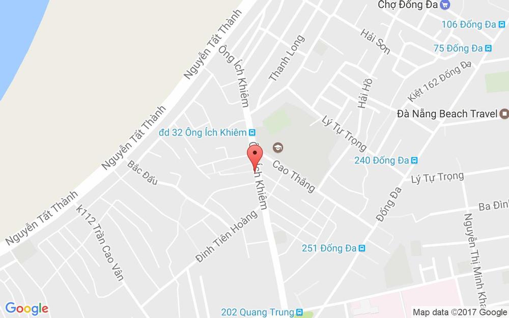 Vị trí bản đồ 66 Ông Ích Khiêm Quận Hải Châu Đà Nẵng