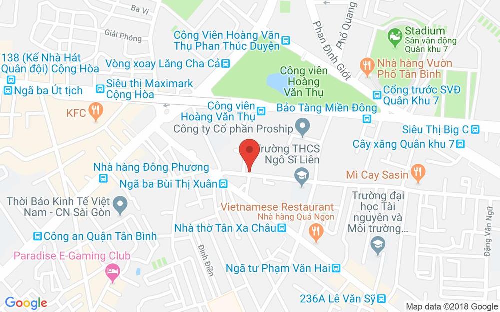 Vị trí bản đồ 150/19 Nguyễn Trãi Quận 1 TP. HCM