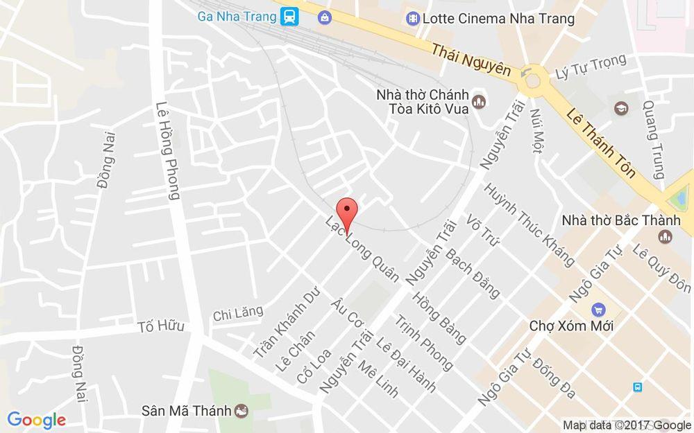 Vị trí bản đồ 11B Lạc Long Quân, P.  Phước Tân Tp. Nha Trang Khánh Hoà