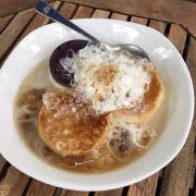 Flan phô mai, flan truyền thống, pudding việt quất :3