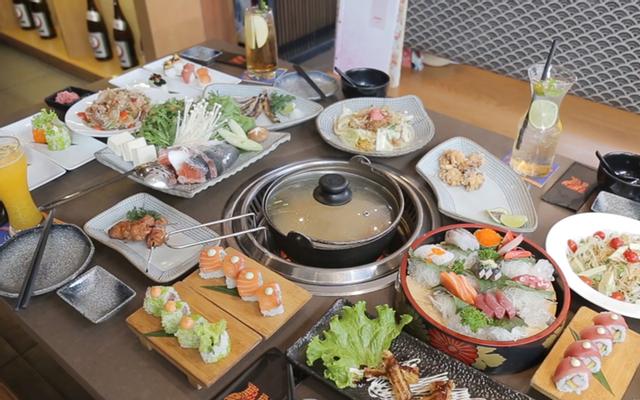 Isushi Buffet Nhật Bản