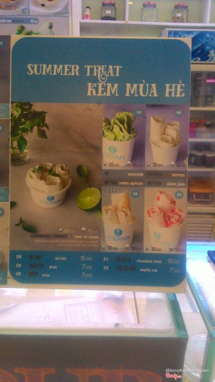 Icepan - Kem Chảo Lạnh ở Khánh Hoà