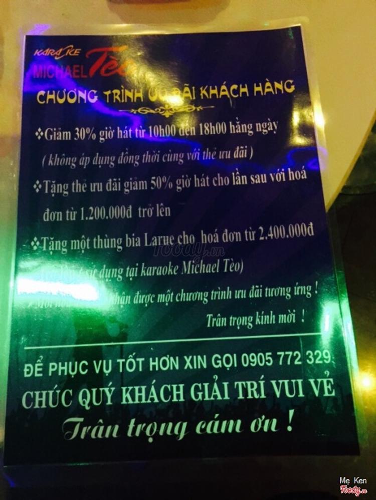Michael Tèo Karaoke - Thái Phiên ở Đà Nẵng