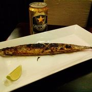 Cá sanma nướng muối<a class='hashtag-link' href='/ho-chi-minh/hashtag/sapporopremiumbeer-188774'>#SapporoPremiumBeer</a>