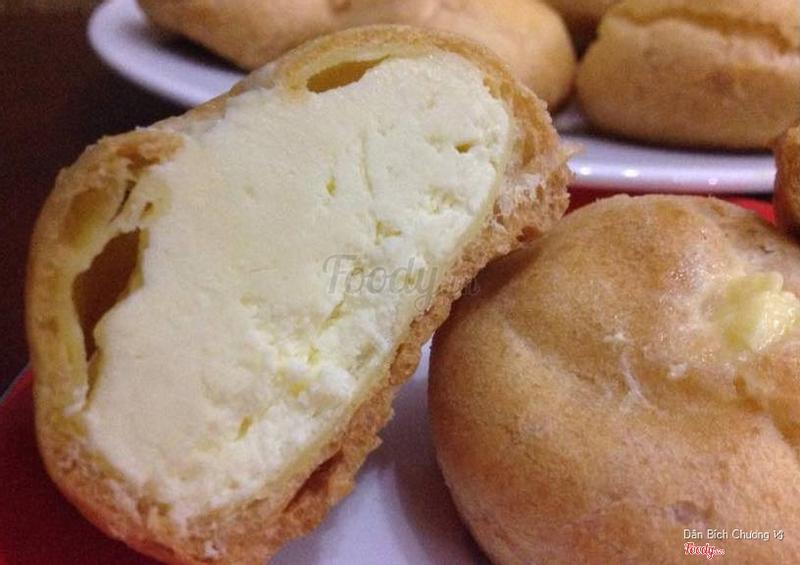 Japaneese Ice Cream Puff