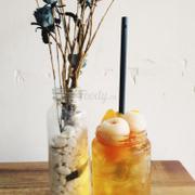 trà đào trái cây 30k