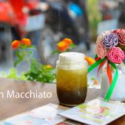 trà đen macchiato