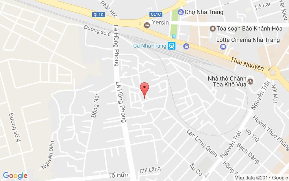 Vị trí bản đồ Lạc Long Quân, Khóm Quốc Tuấn Tp. Nha Trang Khánh Hoà