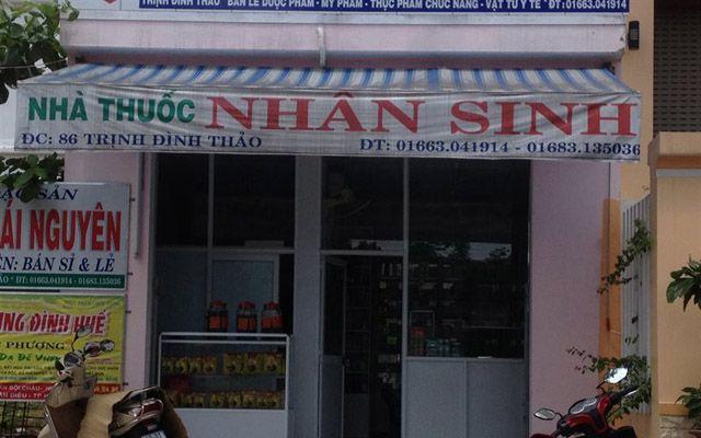 Nhà thuốc Tây Nhân Sinh - Trịnh Đình Thảo