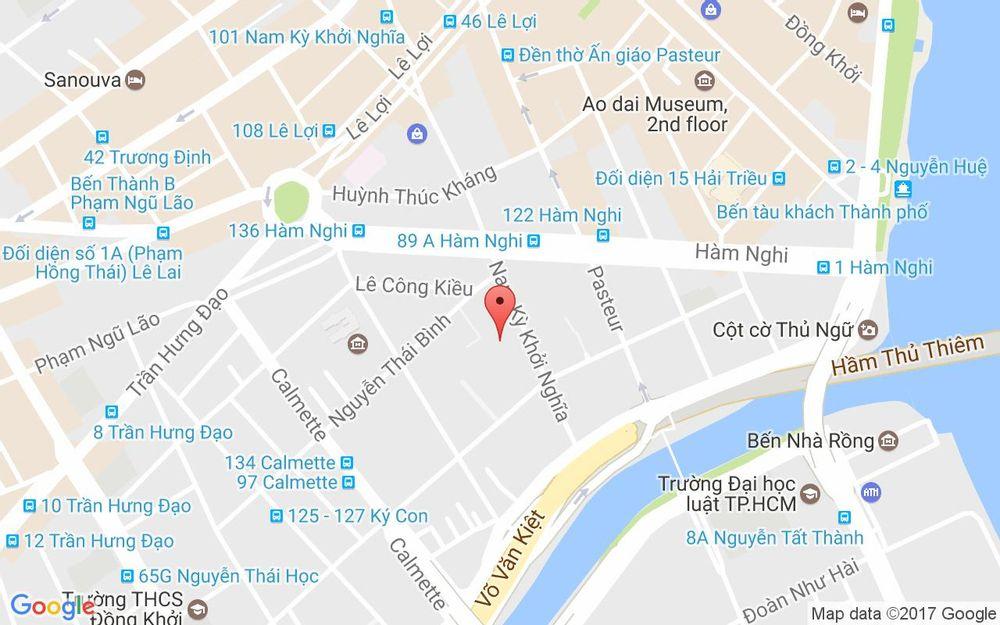 Vị trí bản đồ 54-56 Nam Kỳ Khởi Nghĩa, P Nguyễn Thái Bình Quận 1 TP. HCM
