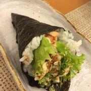 Cuộn cá hồi nướng sốt teriyaki
