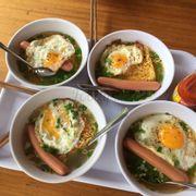 30k/ tô my gối trứng gà xúc xích