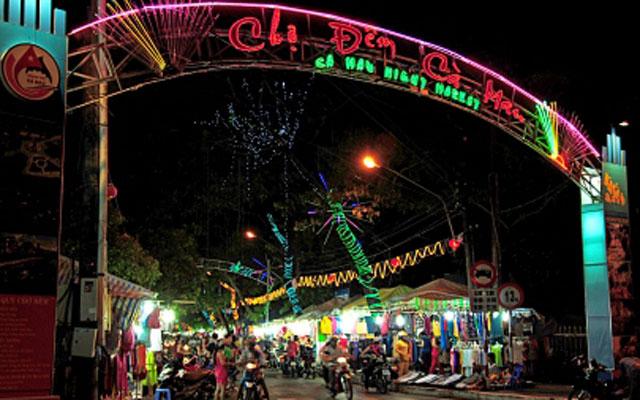 Chợ Đêm Cà Mau - An Dương Vương