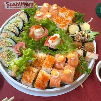 Mâm sushi 199k