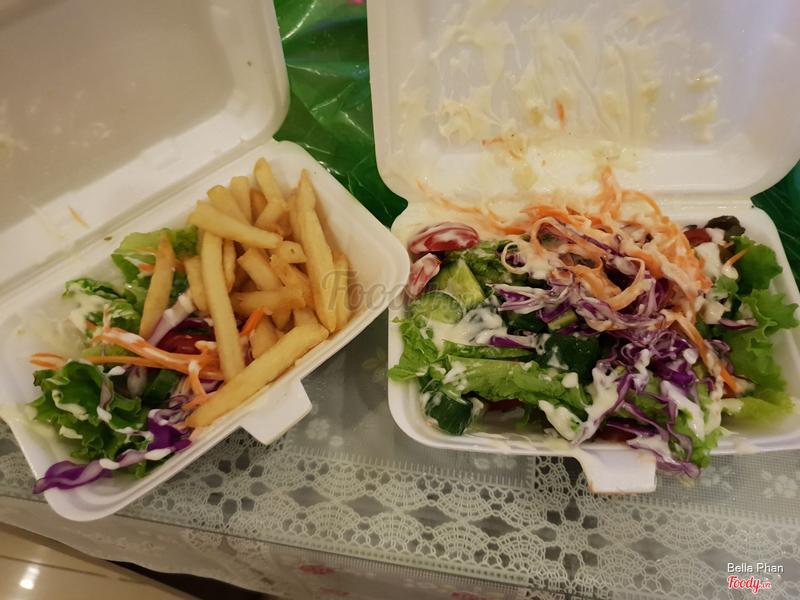 Salad hơi xấu nhưng rất vừa ăn