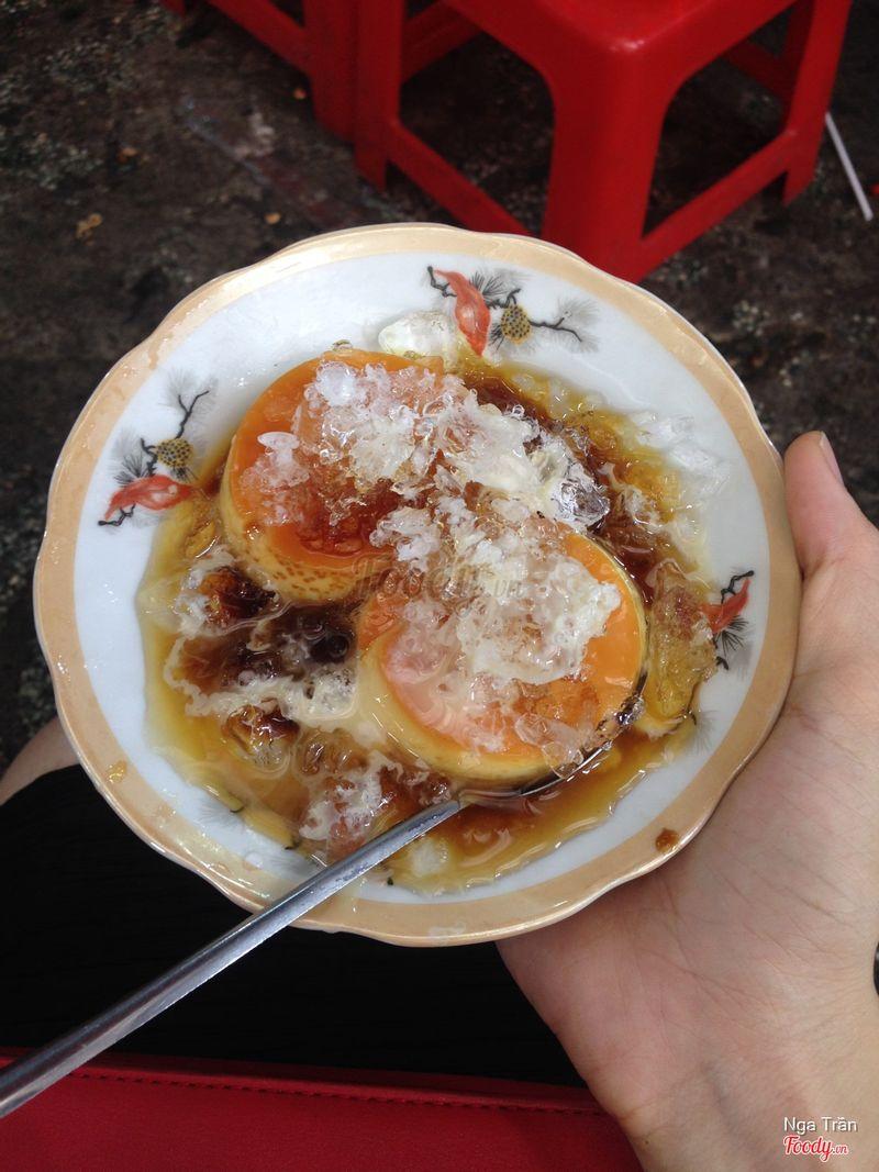 Bánh flan - 10k / đĩa