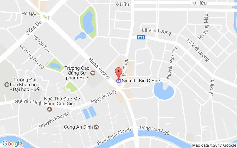 Vị trí bản đồ Lotte Cinema - Big C ở Huế