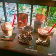 Cafe cốt dừa + bạc sửu