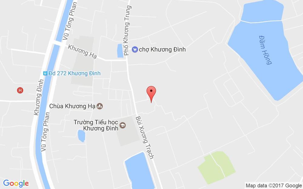 Vị trí bản đồ 35 Ngõ 77 Bùi Xương Trạch Quận Thanh Xuân Hà Nội