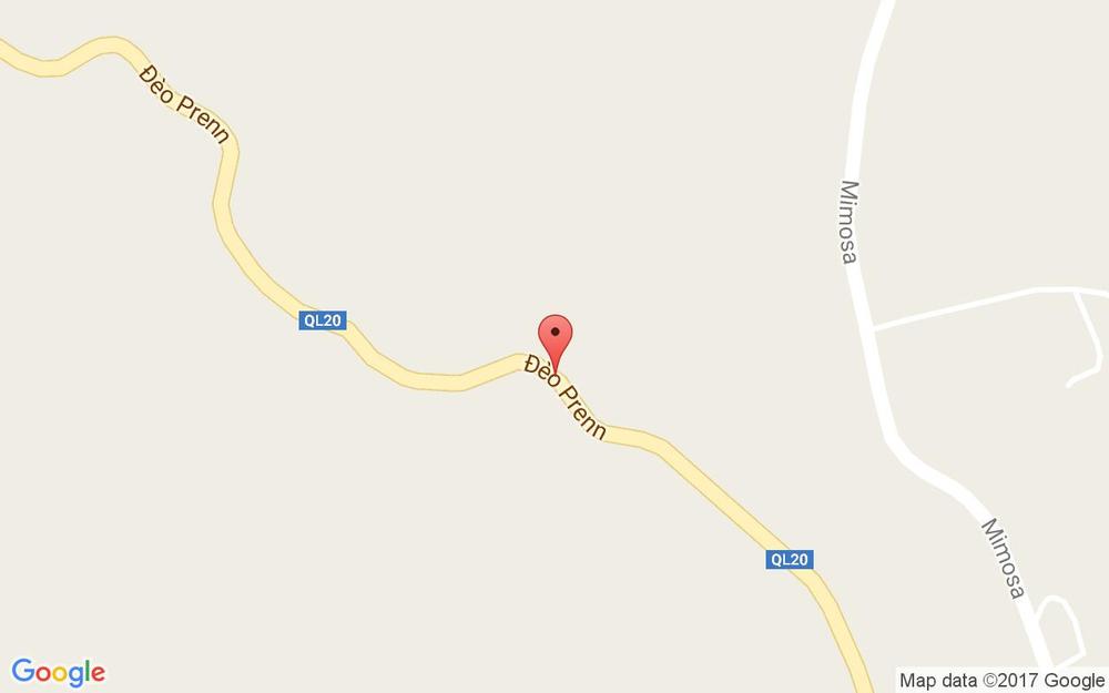 Vị trí bản đồ Nhà Ma Đèo Prenn ở Lâm Đồng