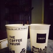 Di uber uong cf the coffee house ^^ free