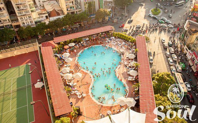 Saigon Soul Pool Party - New World Saigon Hotel