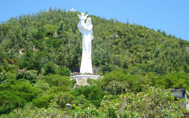 Tượng Đức Mẹ - Giáo Xứ Bãi Dâu