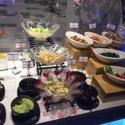 Salad kim chi quầy nóng