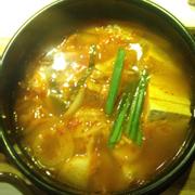 Canh kimchi, khong ngon