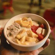 yaourt dẻo trái cây