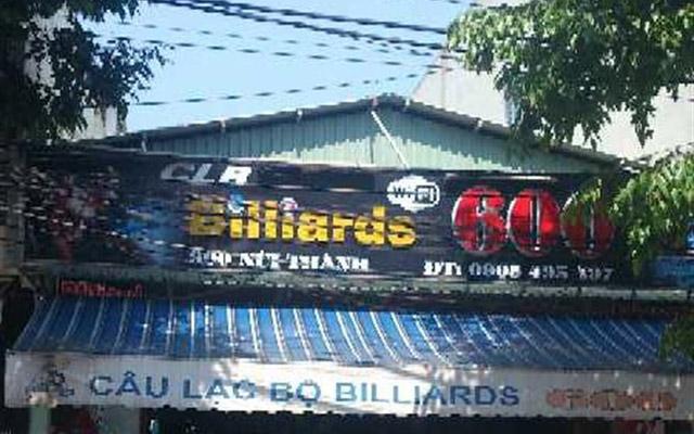 Câu Lạc Bộ Billiards 600 - Núi Thành