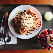 Bingsu & Honey Bread