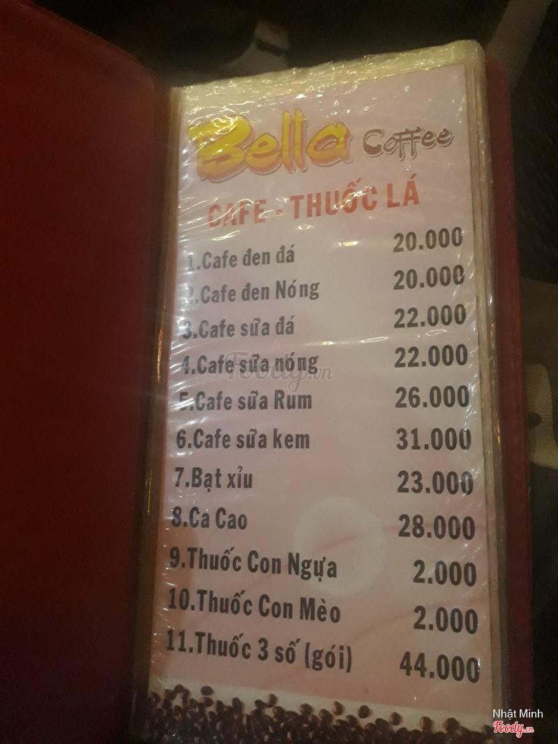 Cafe - Thuốc lá