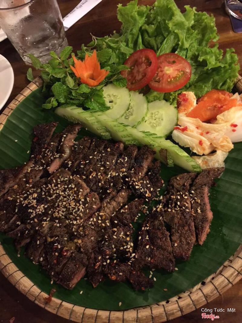 thịt bò nướng