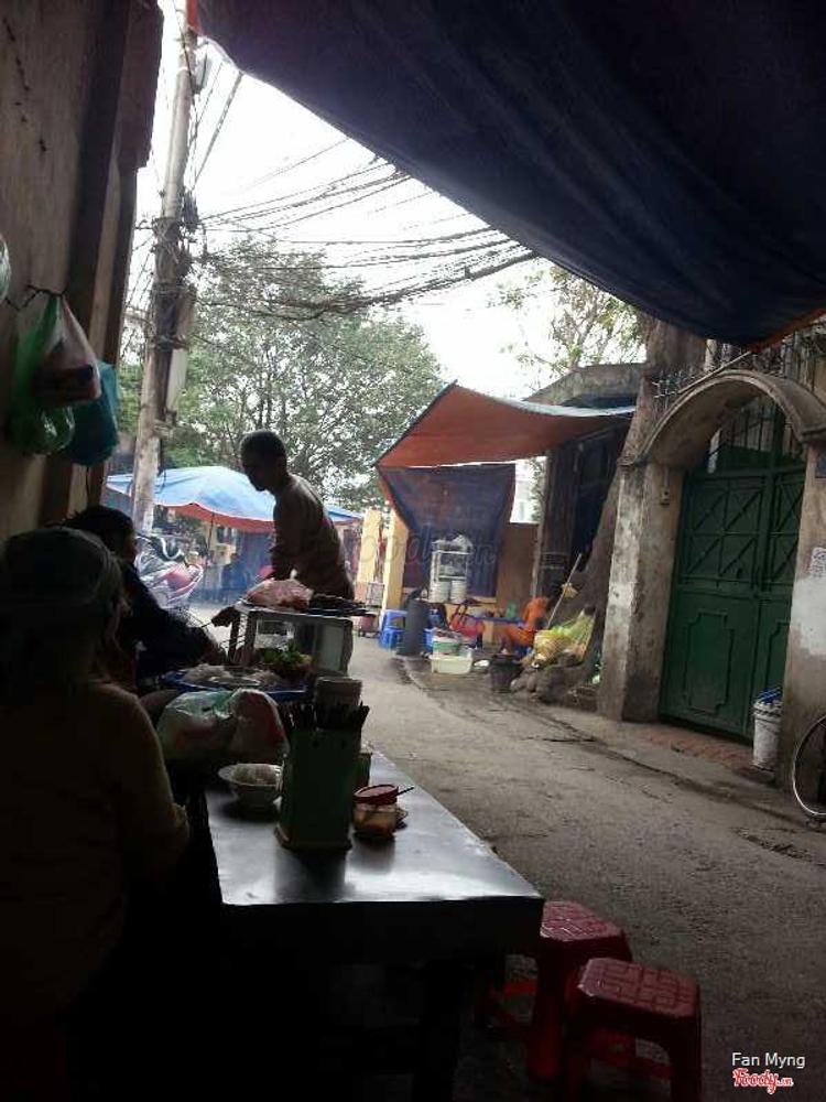 Bún Chả - Giáp Nhất ở Hà Nội